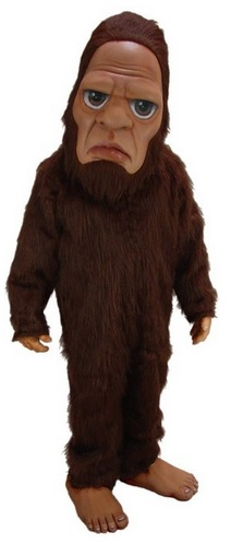 Adult Bigfoot Mascot Costume