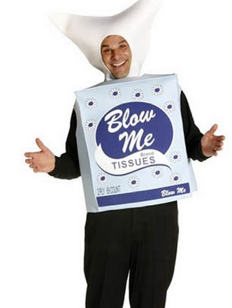 Blow Me Tissues Costume for Adults