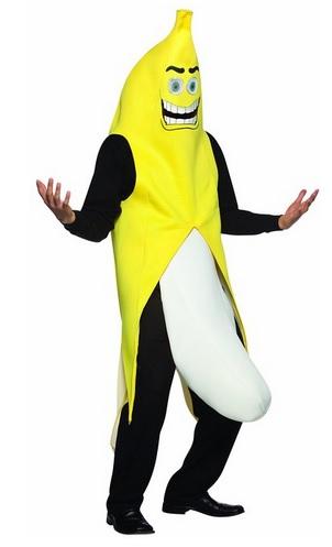 crazy banana costume for men