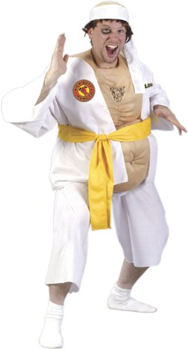 Fat Karate Guy Funny Costume