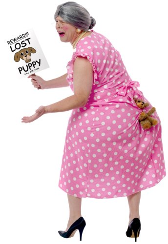 lost puppy funny costume for men
