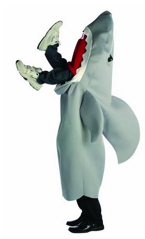 funny Man-Eating Shark Costume