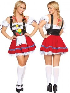 German Beer Girl Outfit