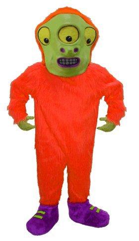 bizarre Alien Lightweight Mascot Costume