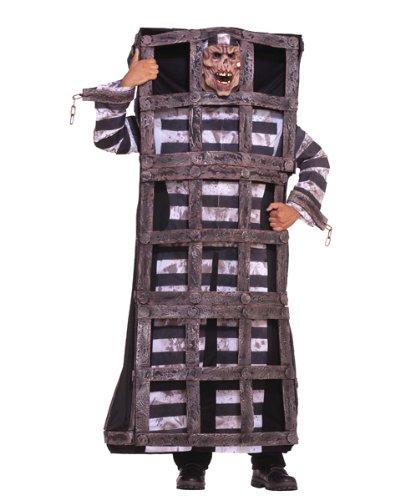 caged convict costume