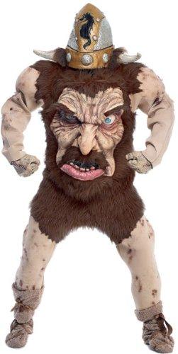 crazy Nordic Viking warrior adult costume