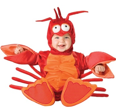 fun baby lobster costume