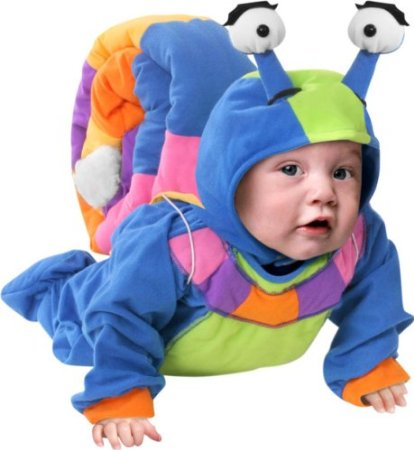 Cute Baby Snail Costume