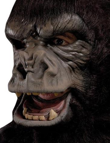 Realistic Gorilla Mask