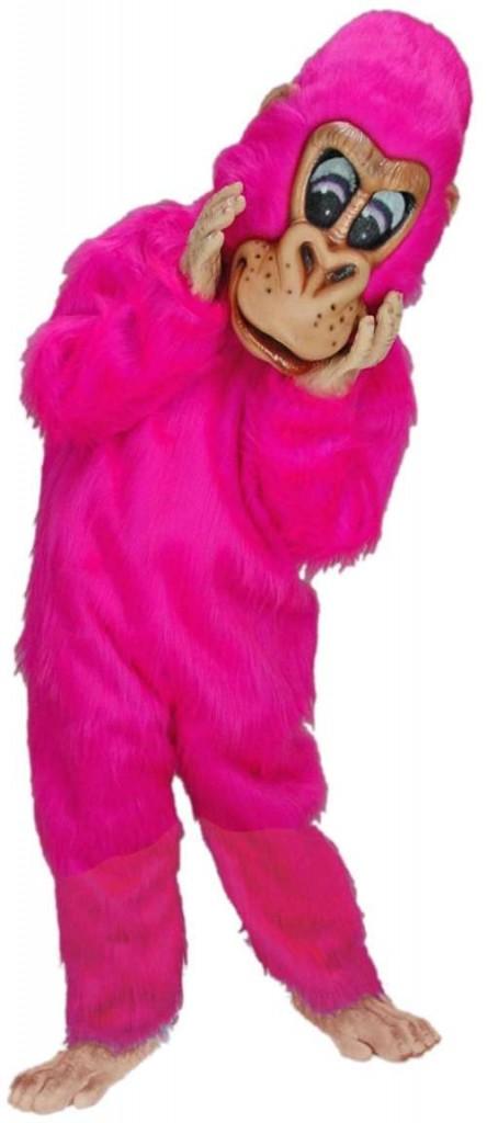 pink gorilla costume