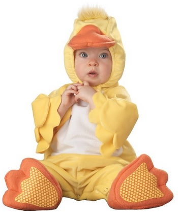 cute duck baby costume