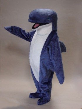 blue whale costume