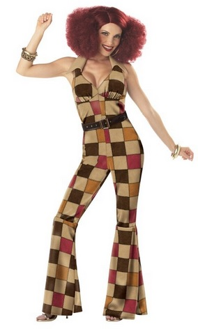 Cool Women's Boogie Babe Costume