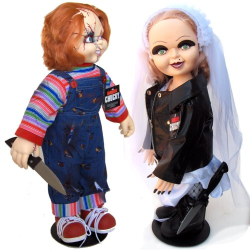 chucky doll and his bride