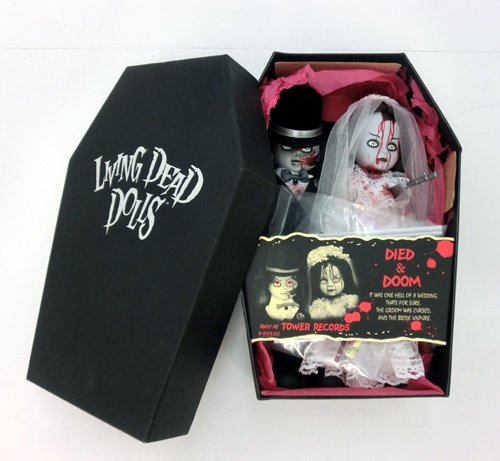 Living Dead Dolls Original Tower Records Exclusive Died and Doom Set