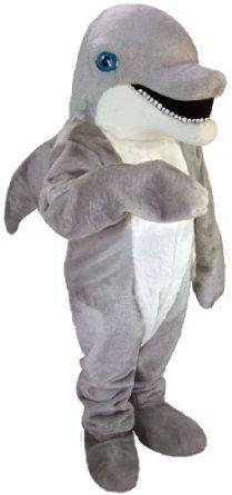 dolphin mascot costume