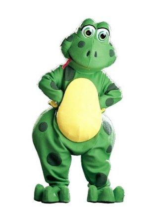 frog mascot costume