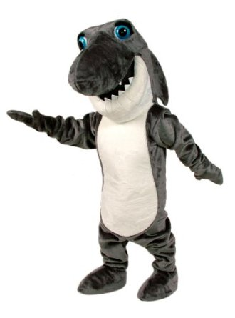 shark mascot suit for adults