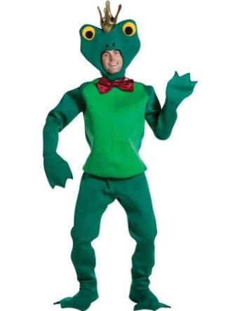 funny frog prince costume