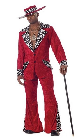 cool Men's Pimp Costume
