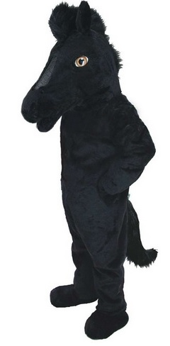 black horse costume for adults