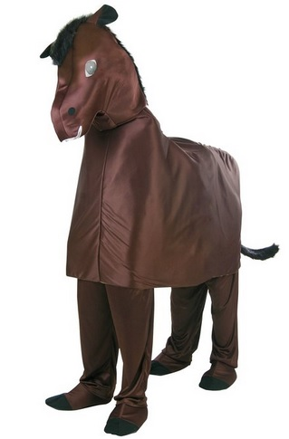 cheap Two Person Horse Costume