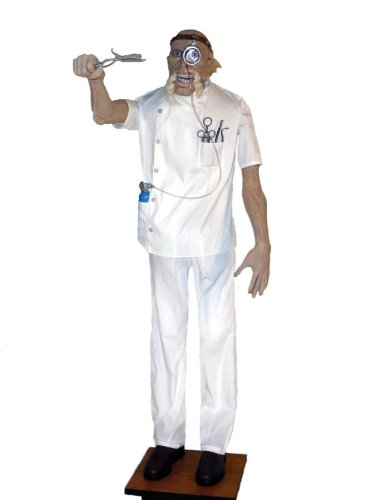Animated Prop Halloween Crazy Doctor