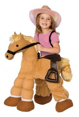 Cute Plush Pony Child Costume