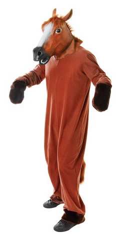 funny adult horse costume