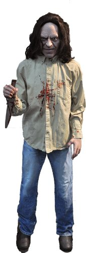 Crazy Psycho Killer Halloween Prop