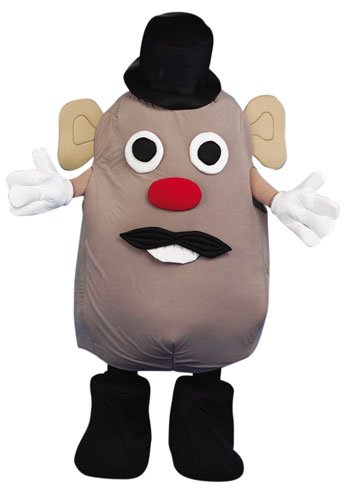 Adult Mr. Potato Halloween Costume