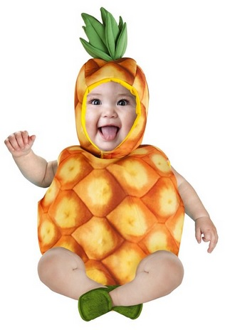 Cute Pineapple Costume for Toddlers