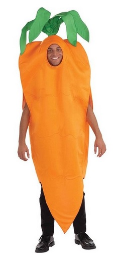 Funny Carrot Adult Costume