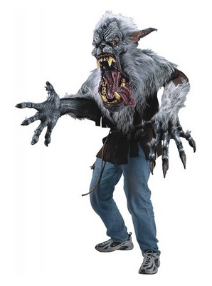 Midnight Howler Creature Reacher Costume Adult