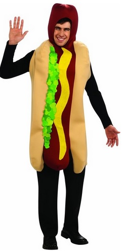 cool hot dog costume for adults