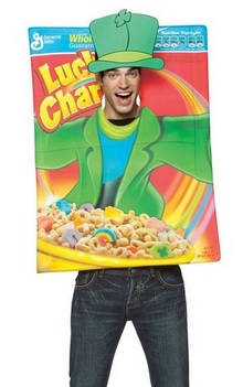 Lucky Charms Cereal Adult Costume