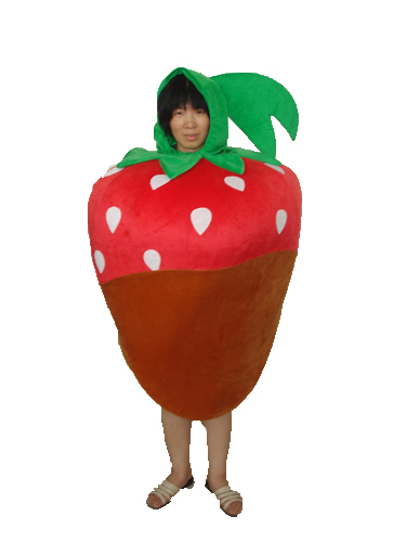 Strawberry Adult Mascot Costume