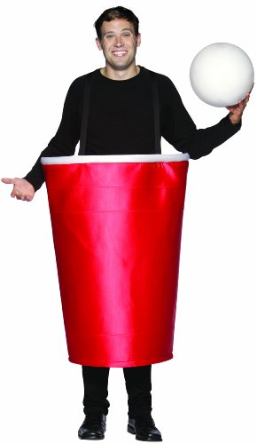 Funny Beer Pong Cup Costume for Men