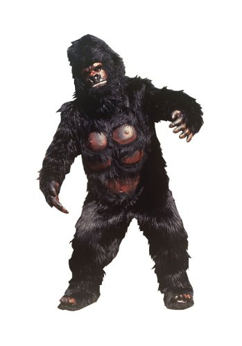 The Most Realistic Hairy Gorilla Bodysuit Costume