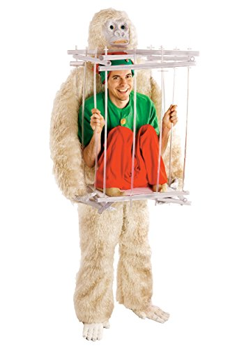 Abominable Snowman and Ice Cage Costume Kit