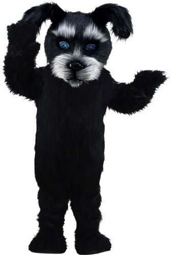 Black Scottish Dog Lightweight Mascot Costume