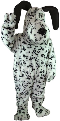 Fun Dalmatian Dog Mascot Costume