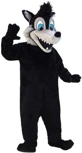 Big Bad Wolf Lightweight Mascot Costume