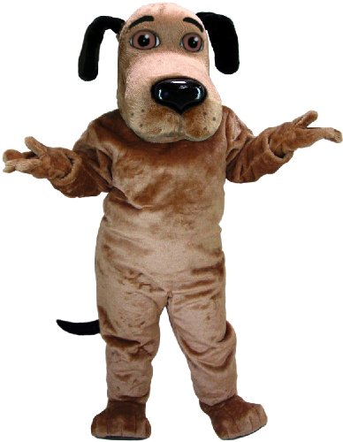 Cute and Friendly Dog Mascot Costume