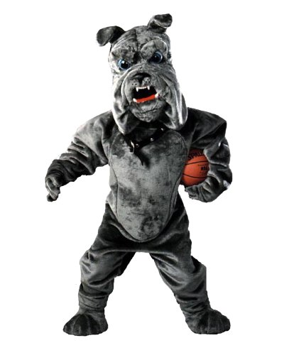 Angry Bulldog Mascot Costume for Sale