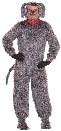 Affordable Plush Dog Costume for Men