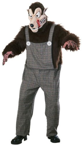 Affordable Big Bad Wolf Deluxe Adult Costume