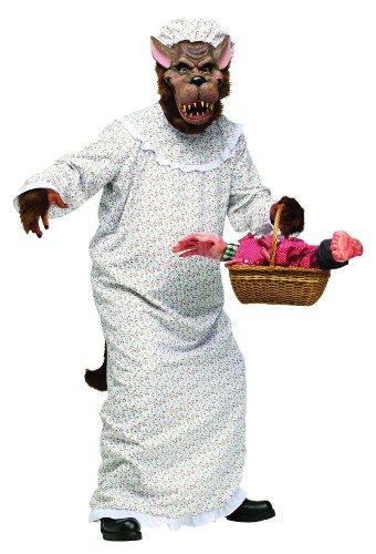 Big Bad Granny Wolf Costume