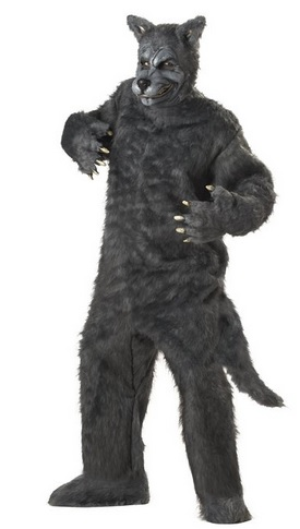 cheap wolf costume for adults
