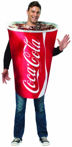 Fun Coca-Cola Cup Costume for Adults